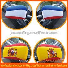 custom advertisement car mirror sock