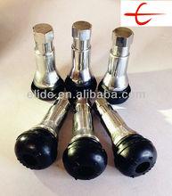 TR413AC Chrome Brass All-Sleeve & Cap -Loudhailer Snap-in Tubeless Tire Valves TR413AC