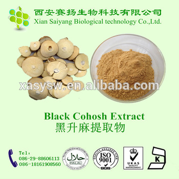 Black Cohosh extract Triterpene Glycosides 8%