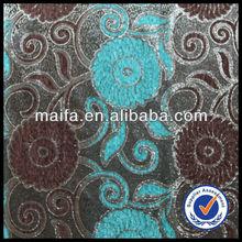 100% Manufacture 2014 new latest wholesale cotton chenille fabric