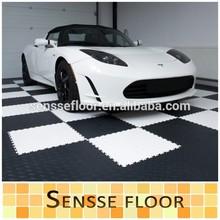 professional pvc interlocking garage flooring with high quality
