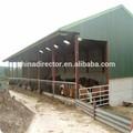 De China made baratos larga vida de casas prefabricadas de acero caballo estable casa