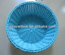 Cheap plastic rattan bread baskets