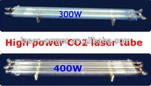 300W,400W High Power CO2 Laser Tube
