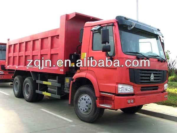 Howo 10 Wheeler Trucks 30 Ton