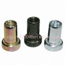 steel elevator thick flange rivet blind nut fasteners in hardware
