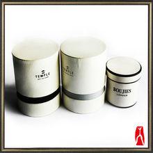 Custom Luxury Cylinder Candle Box/Round Gift Box/Candle Box