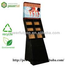 retail silk stocking pop display unit cardboard painting display rack