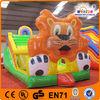 China PVC inflatable lion slide on sale,hot sale slides inflatables