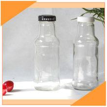 300ml Clear Glass Bottle Salad Dressing Hot Sale