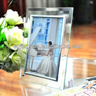 crystal / glass picture / photo frame