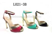 Hot sale pretty design ladies sandals footwear