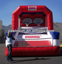 Digital inflatable Basketball One on One,inflatable sport games for sale