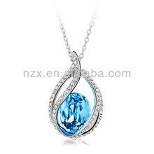 OUXI Drop shape sunshine jewelry made with Swarovski Elements 10311