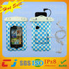 2014 plastic clear pvc waterproof bag for iphone with ipx8 certificate