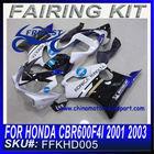 For HONDA 01 02 03 600F F4i Bike Fairings FFKHD005