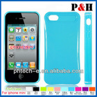 Hottst and newest-i-Glow Night Noctilucent Mobile Case Back Cover For apple iphone 5 Hot