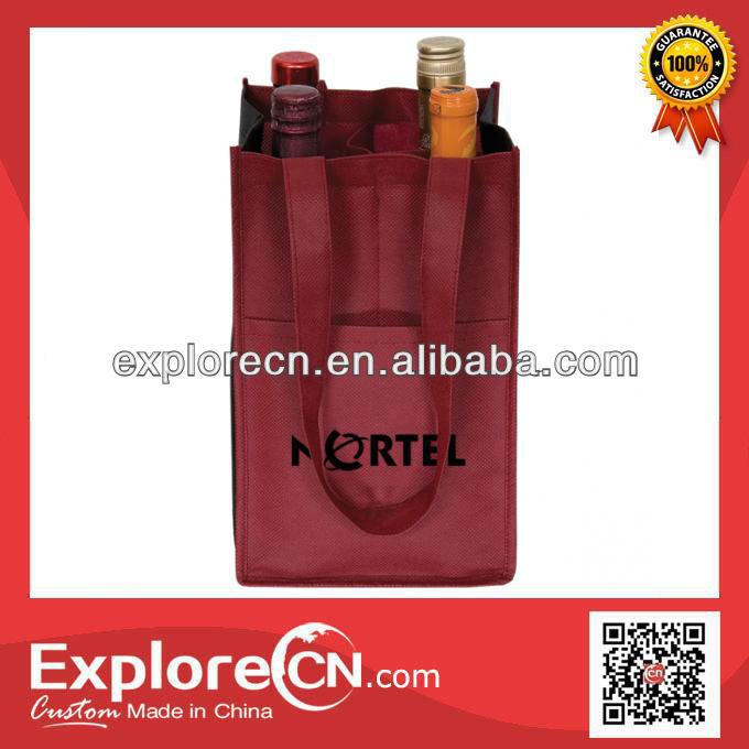 Non woven Wine Bottle Cooler Bag