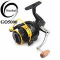 molinetes para pesca vara e molinete combinação com metal spool para baitcast sobre a iniciativa pesca china go6000