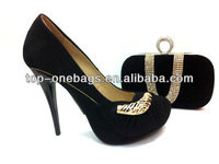 2013 New Fashion Evening Dress Shoes And Bags To Match Women