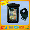 Fashion Inflatable Pvc Waterproof Bag for iphone 4/4s with Armband