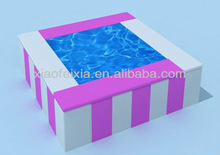 square water bed for kids