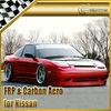 For Nissan 180SX S13 Supermade FRP Full Body Kit