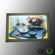 Aluminum LED A0 diy poster lightbox display