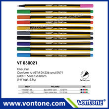 promotional Hexagon fine liner pen