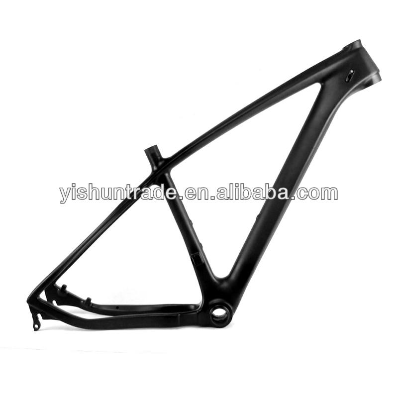"2014 YISHUNBIKE Best seller BB92 29"" hard tail MTB Frameset axle through carbon mountain bike frame"