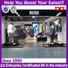 Hugo boss business men garment retail store clothes shop fitting