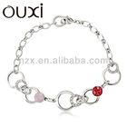 Popular color shamballa bracelet Made With Swarovski Elements Jewelry 30117