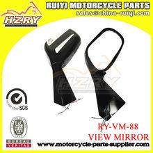 SIDE MIRROR Chopper/Cruiser Motorcycle 8mm 10mm Black