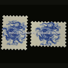 Ceramic Chip Antiques Stamps Chinese Porcelain Decor