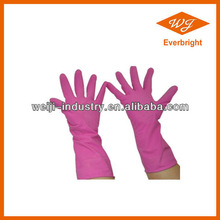 chemical working latex coated glove,household gloves