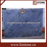 Blue Azul Bahia Granite Slab