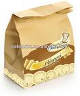 Printed Various High quality Ecofriendly Kraft paper food packaging bag