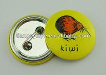 New Fashion Round Metal Pin Badge