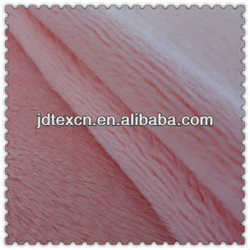 100% polyester soft velboa for home textile / sofa fabirc / toy fabric.