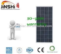 cheap solar panel 130w for solar street light/solar roof system