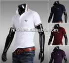 summer men's polo shirt men short sleeve t-shirt Korean Slim lapel T03