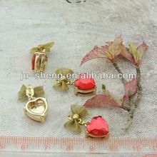 fashion bowknot metal jewel handicraft embellishment