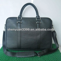 Guangdong wholesale bargain new design zipped pu leather mens travel bag