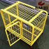 Welded Square Tubing Dog Cage With Wheels