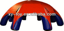 8 legs spider shaped inflatable tents, as a temporary inflatable car shelter