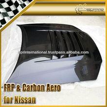 For Nissan Skyline R34 GTR NISM STYLE Style Carbon Fiber Bonnet Hood