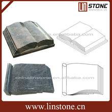 book shape headstone