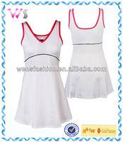 Customized Adult/Child Tennis Dress women cheap Plain Tennis Dresses