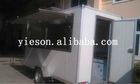 food catering cart trailer camper van,ice cream food vendor YS-FV400-2/soft serve ice cream machine bubble tea kiosk design