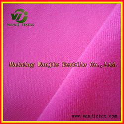 Polyester tricot brushed fabric textile supplier